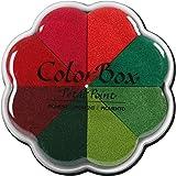 ColorBox Petal Point Inkpad, 4.25 X 4.75, Poinsettia (Color: Poinsettia, Tamaño: 4.25 X 4.75