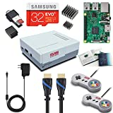 Vilros Raspberry Pi 3 RetroPie Arcade Gaming Kit with 2 Classic USB Gamepads (RPI)