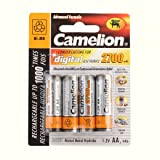 Camelion NH-AA2700-BP4 1.2V 2700mAh AA NI-MH 4pk Blister