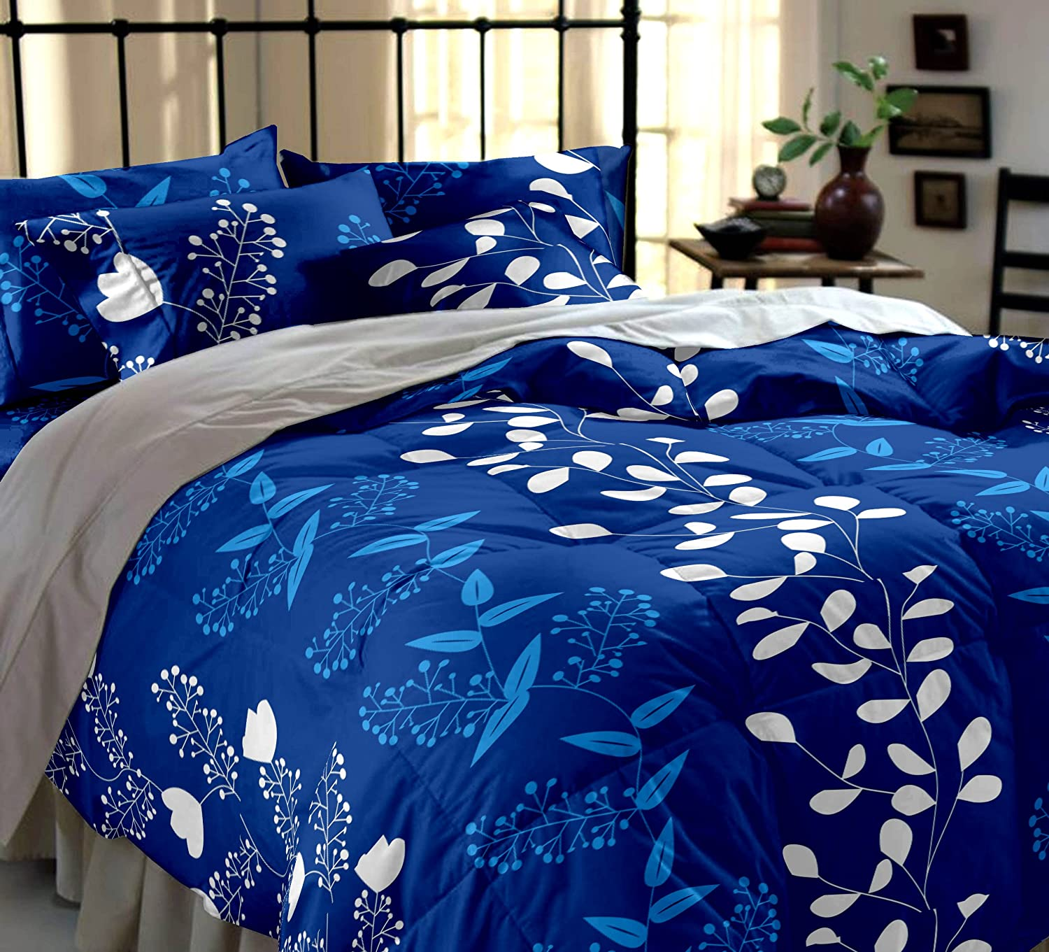 Blue Bed Sets at Home and Interior Design Ideas