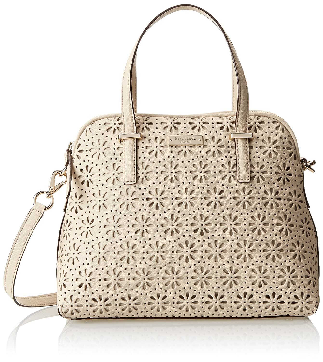 kate spade new york Cedar Street Perforated Maise Cross Body Bag, Crema De Vie, One Size