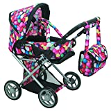 Mommy & Me - 5 in 1 Deluxe Doll Pram- 9346