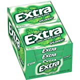 Extra Spearmint Sugarfree Gum, 15 Piece (10 Packs)