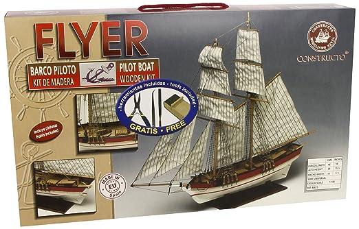 Constructo - 80615 - Construction et Maquette - Bateau - Flyer - 1:100