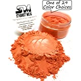 Stardust Micas Mica Pigment Powder Cosmetic Grade Colorant for Makeup, Soap Making, Epoxy Resin, DIY Crafting Projects, Bright True Colors Stable Mica Batch Consistency Blood Orange (Color: Blood Orange, Tamaño: 36 Gram Jar)