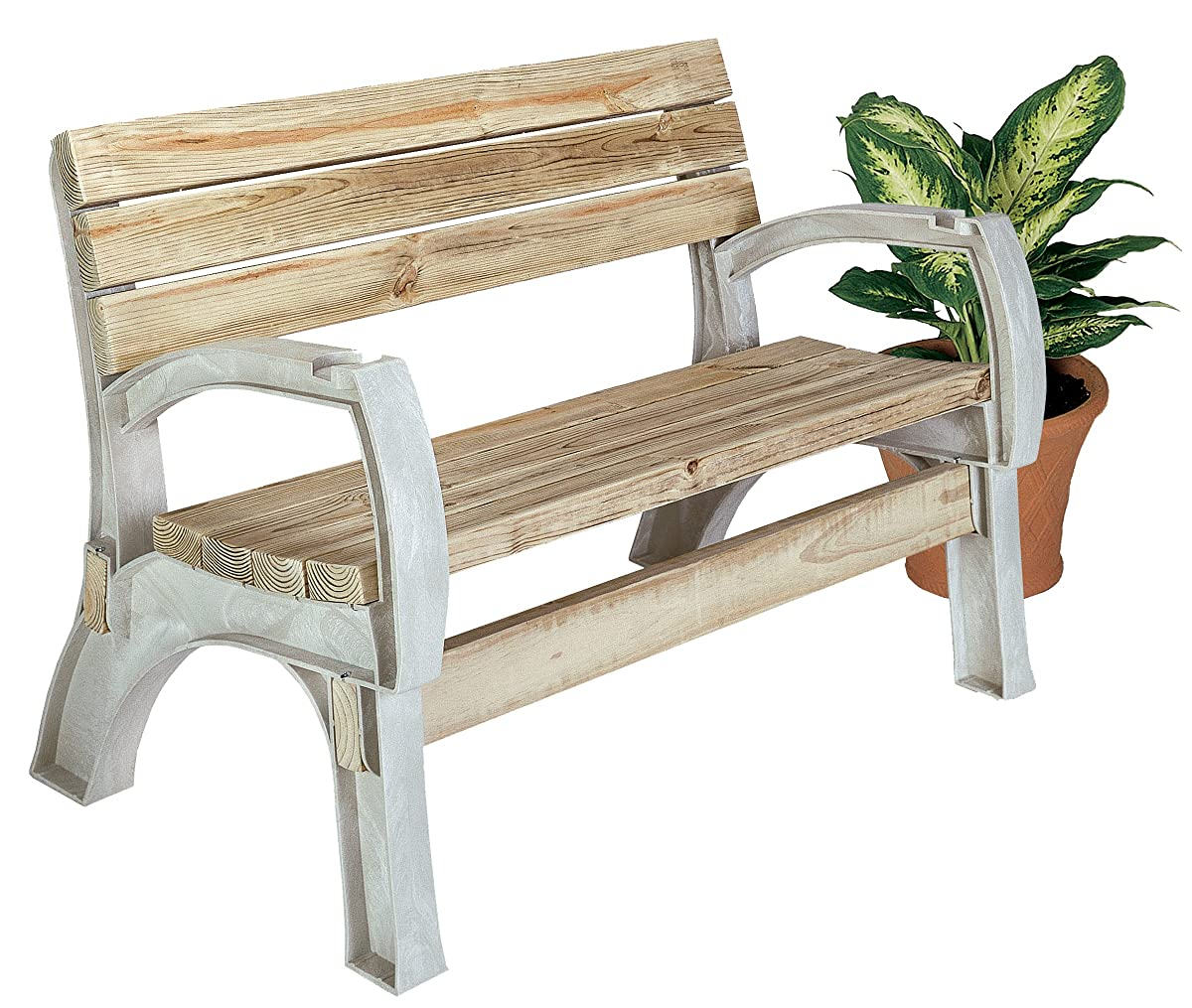 Hopkins 90134ONLMI 2x4basics AnySize Chair or Bench Ends, Sand