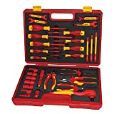 BOOHER 0200408 30-Piece 1000V VDE Insulated Tools Set