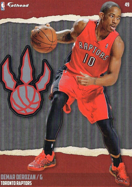 2014-2015 NBA Demar Derozan Toronto Raptors Fathead Tradeable