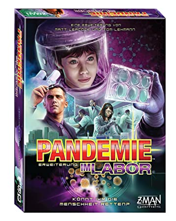 Asmodee - 691120 - Extension - In Vitro - Extension Pandémie