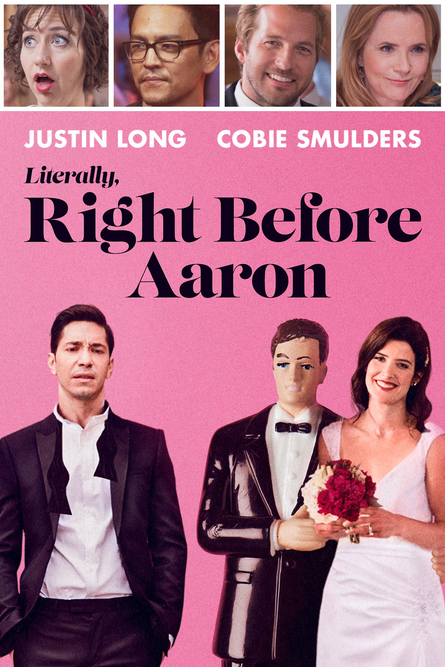 Book Cover: Literally, Right Before Aaron