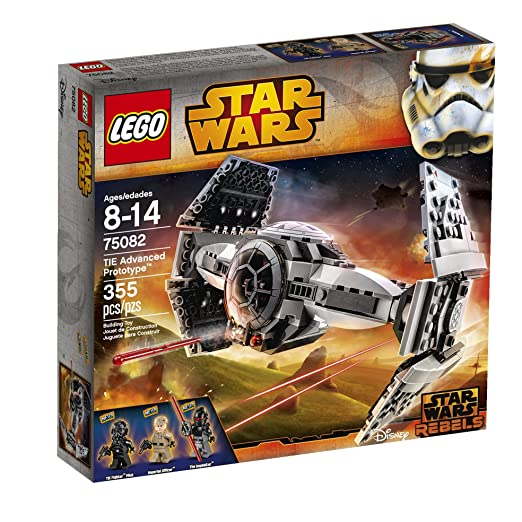 LEGO Star Wars TIE Advanced Prototype Toy: Toys & Games