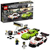 LEGO Speed Champions Porsche 911 RSR and 911 Turbo 3.0 75888 Building Kit (391 Piece) (Color: Multi)