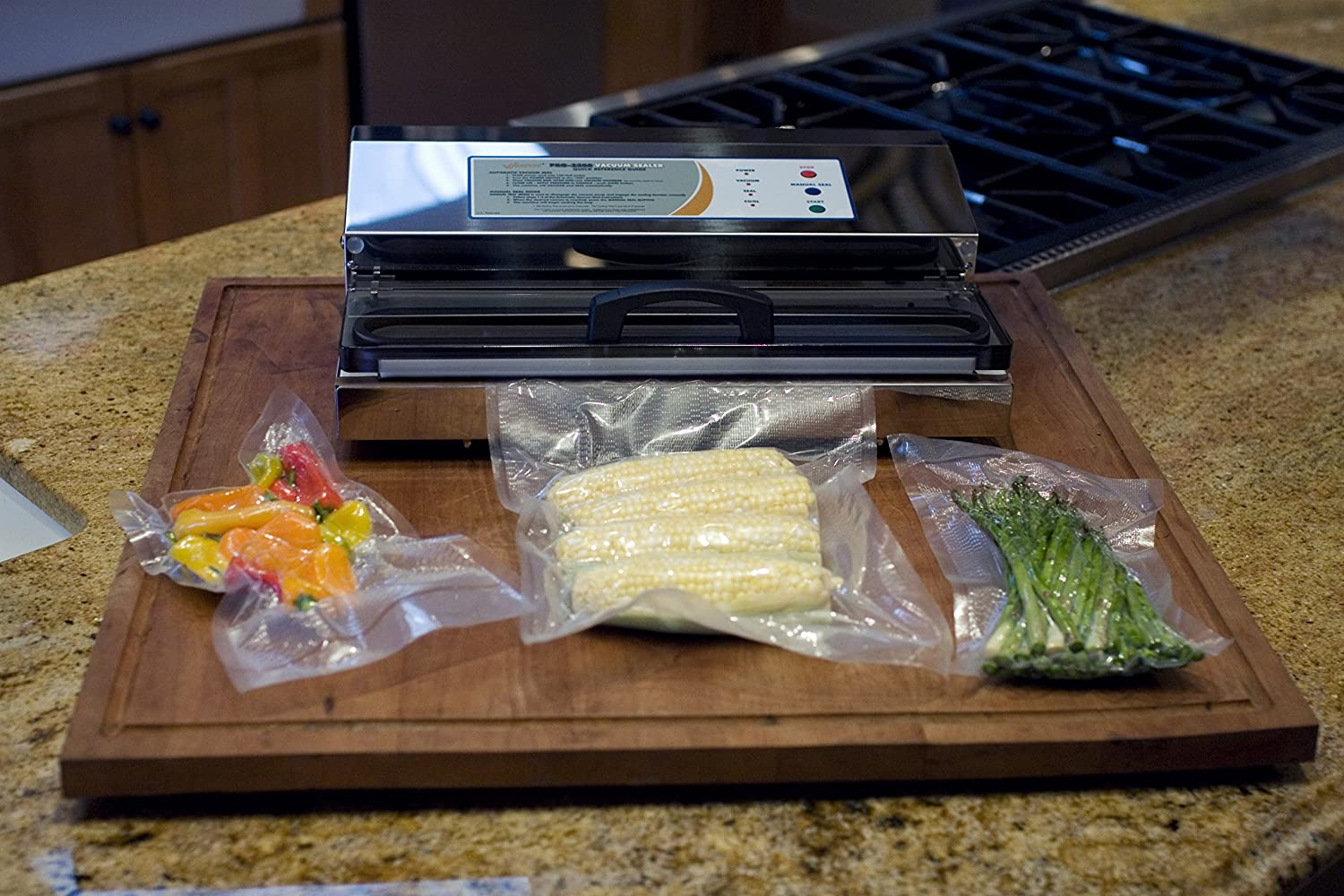Weston 65-0201 Pro-2300 is the best vacuum food sealer on our list but will cost you a hefty $380.