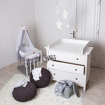bords arrondis table langer blanche pour commode ikea hemnes fvbxnbvbfbj. Black Bedroom Furniture Sets. Home Design Ideas