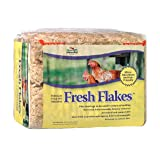 Fresh Flakes Pine Shavings Bedding for Chickens (Tamaño: 3.5 Cubic Feet)
