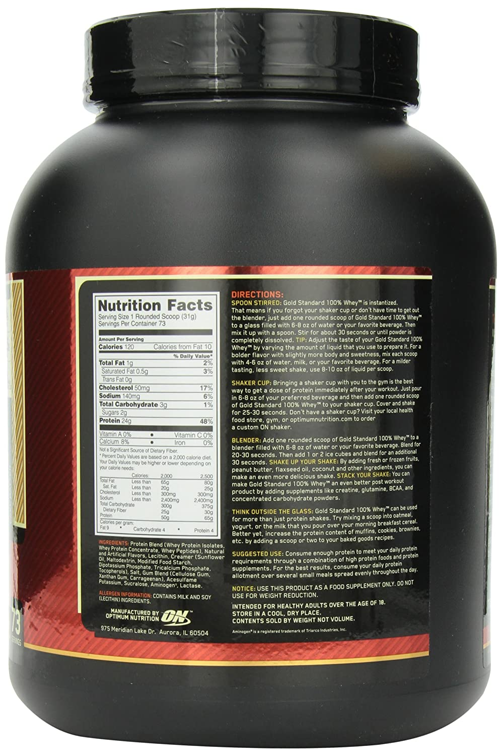 ON Whey Gold Standard - 5 lb Cake Batter