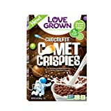 Love Grown Kids Cereal, Comet Crispies, Chocolate, 9.5 Ounce