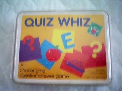 Vintage Quiz Whiz a