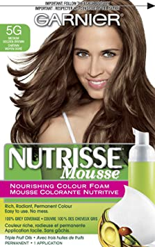 Medium Golden Brown Hair Dye Garnier