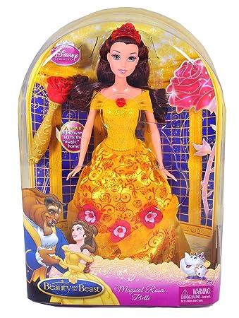 Mattel - T1830 - Disney Princesse - Poupée - Belle Roses Enchantées