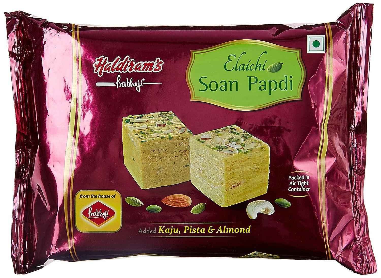 Haldiram Prabhuji Soan Papdi Elaichi 500g & Haldiram Prabhuji Multi Grain Soan Papdi 500g @ Amazon – Rs.88 – Grocery