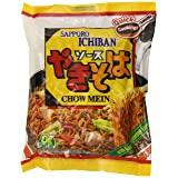 Sapporo Ichiban Chow Mein, 3.6-Ounce Packages (Pack of 24) (Tamaño: 3.6 Ounce (Pack of 24))