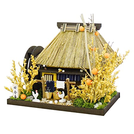 Billy maison de poup?e ? la main kit de chaume maison kit campagne ermitage 8443 (Japon import / Le paquet et le manuel sont ?crites en japonais)