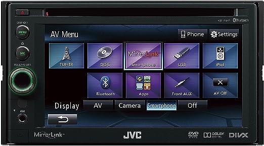 JVC KW-NSX1 Autoradio CD/DVD Noir (Import Allemagne)