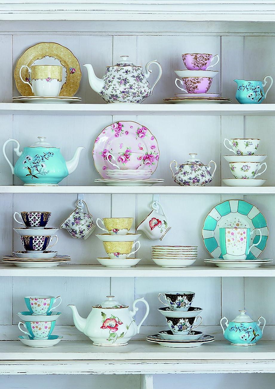 Royal Albert 5 Piece 100 Years 1950-1990 Teacup & Saucer Set, Multicolor 1
