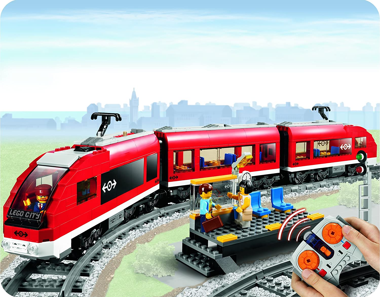 Lego City Passenger Train 7938 LEGO City Passenger Train
