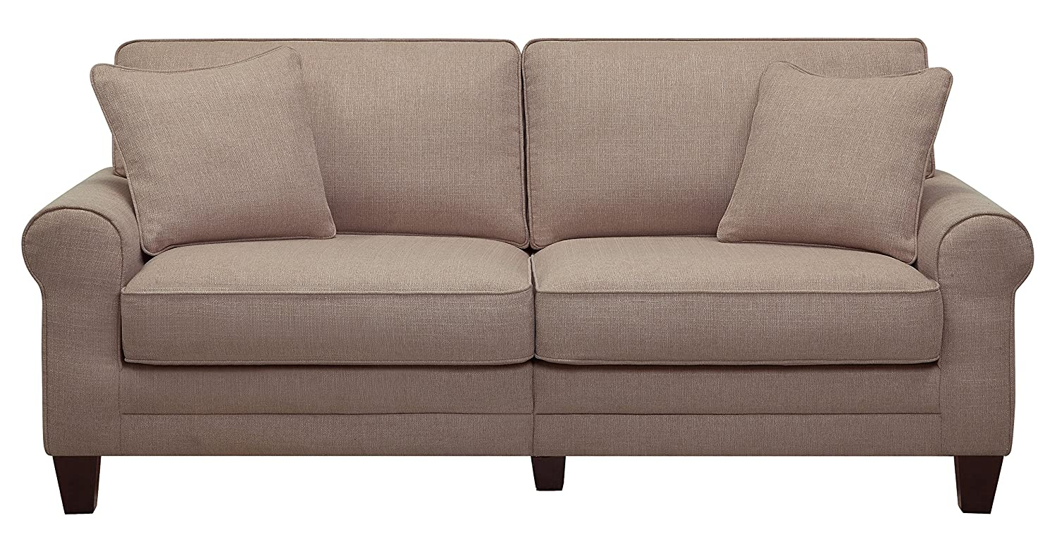 Serta® RTA Copenhagen Collection 78 Sofa in Stoneware Beige - CR46224PB