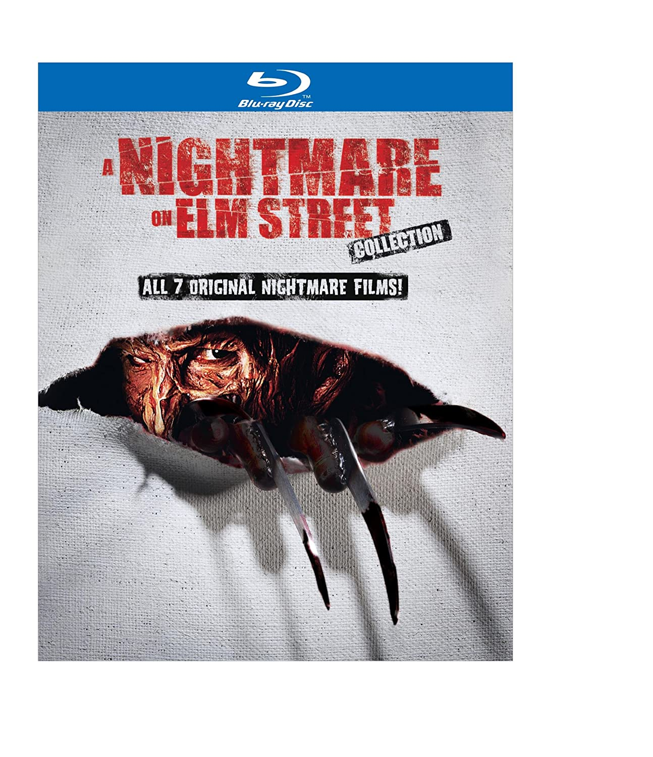 A Nightmare on Elm Street Collection (All 7 Original Nightmare Films + Bonus Disc) [Blu-ray]$25.99