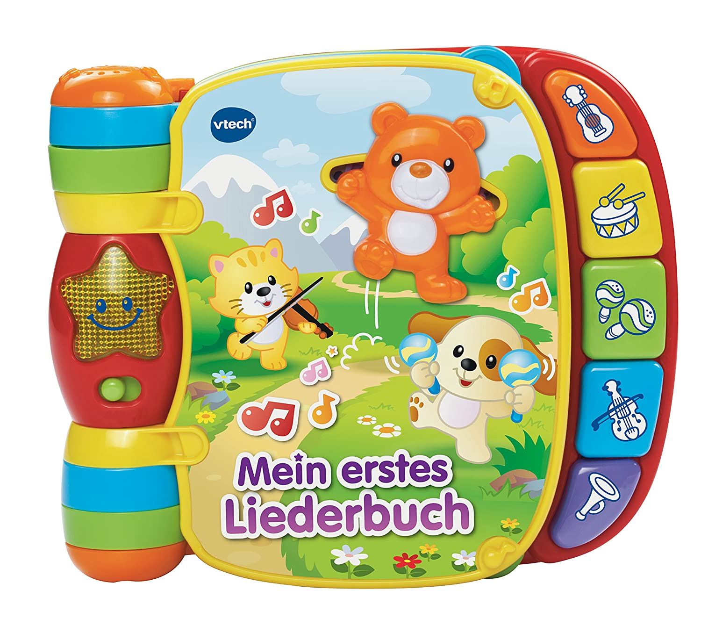 VTech Baby 80-166704 – Babyspielzeug – Mein erstes Liederbuch als Geschenk