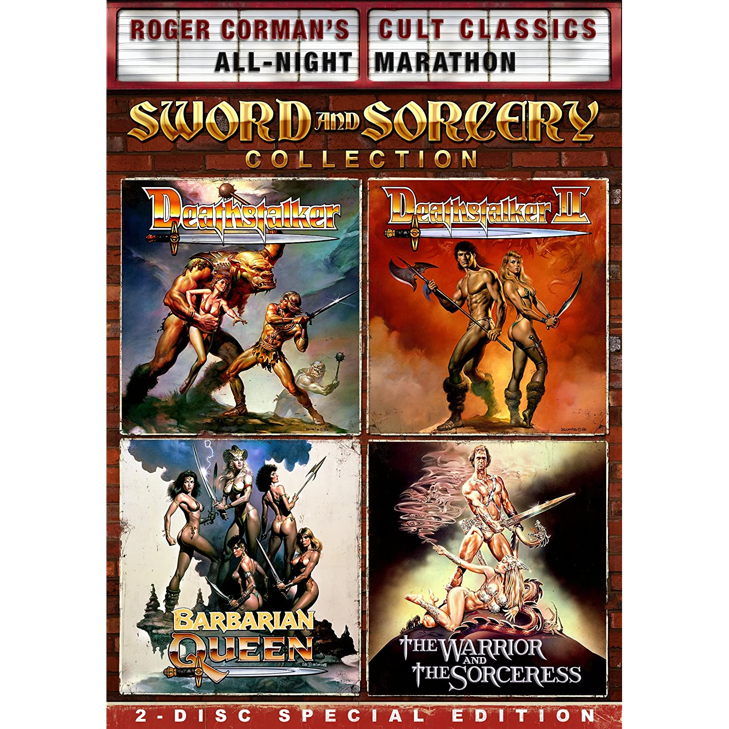 Roger Corman Sword and Sorcery