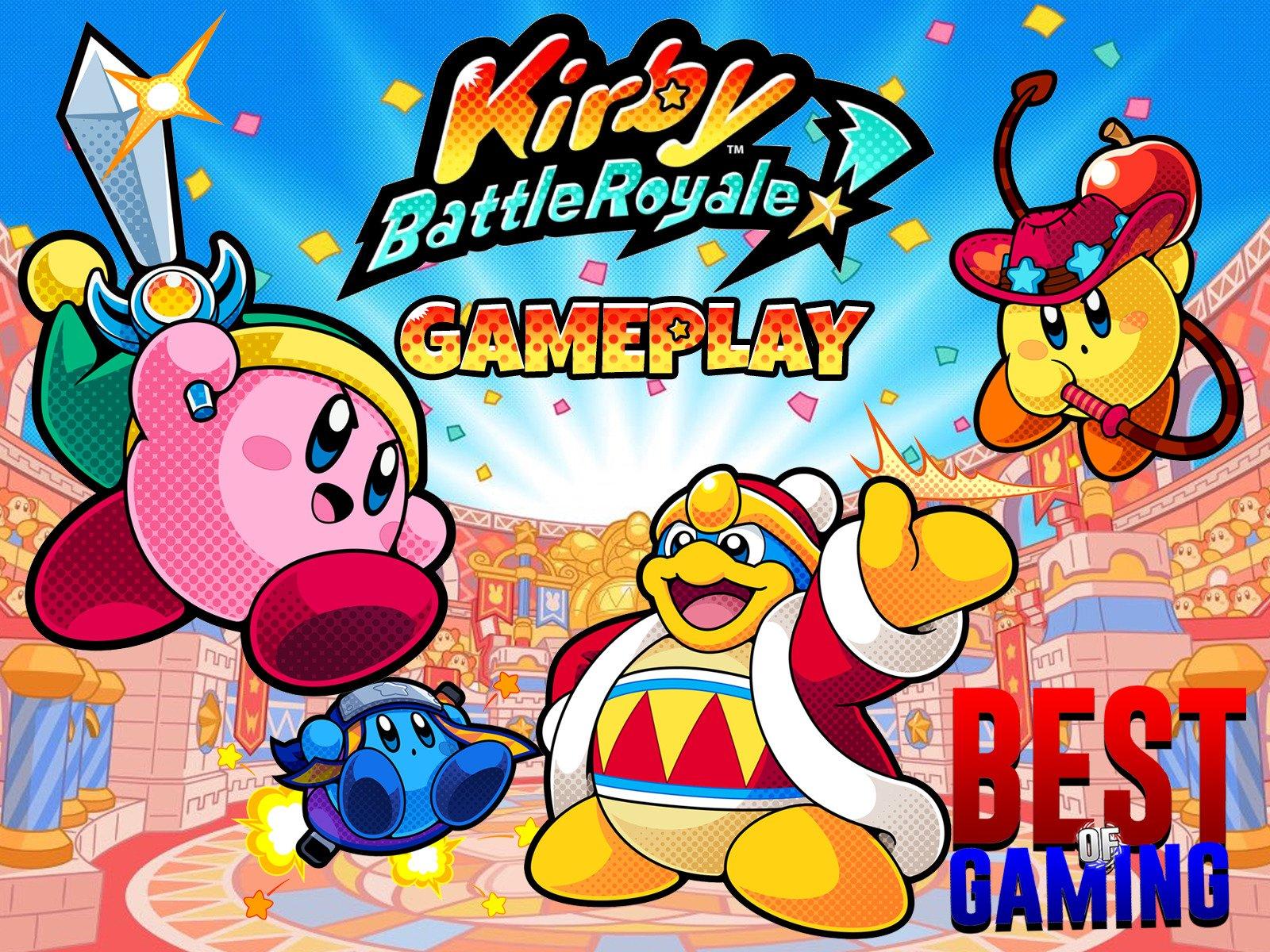 Kirby Battle Royale Gameplay - Season 1