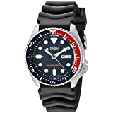 Seiko Divers Automatic Deep Blue Dial Mens Watch SKX009K1 (Color: Black, Tamaño: 42mm)