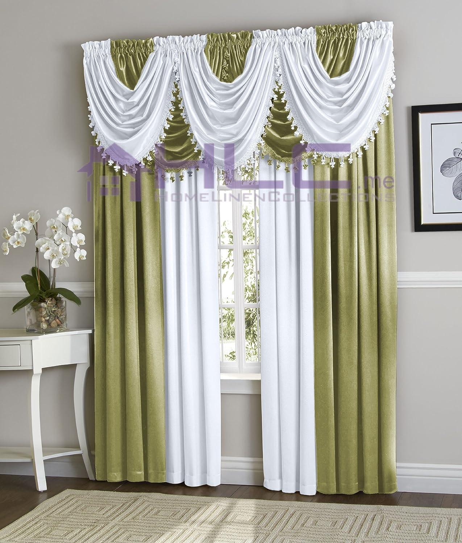 Curtain (Valance, Sage)