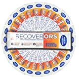 RecoverORS Clinical Electrolytes | Hydration for Hangover, Diarrhea, Vomiting, Diarrhea for Adults | Oral Rehydration Solution ORS (Color: White)