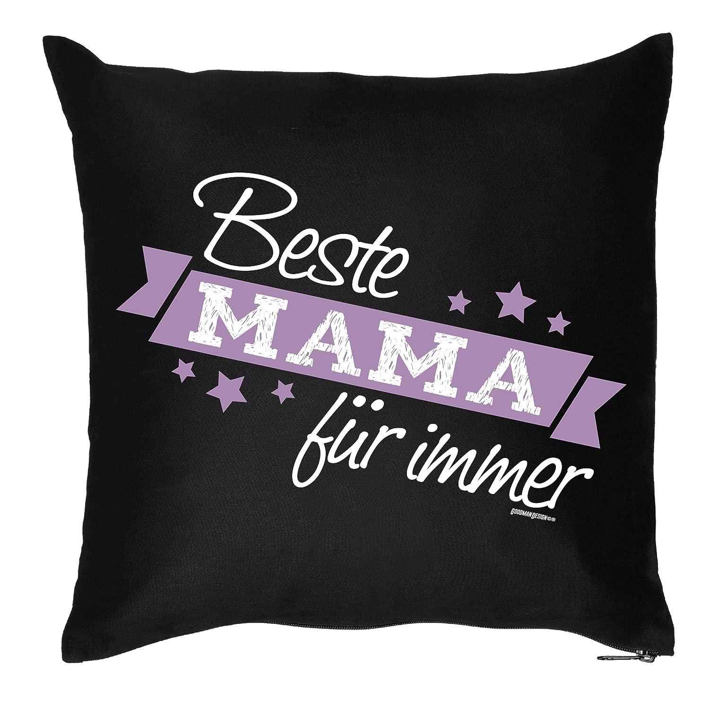bedrucktes Muttertag Sofa Kissen: Beste Mama für immer Geschenk Dekokissen Couchkissen Sofakissen Geburtstag Ostern Couch online kaufen