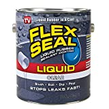 Flex Seal Liquid Rubber in a Can, 1-Gal, Clear (Color: Clear, Tamaño: 1-gal)