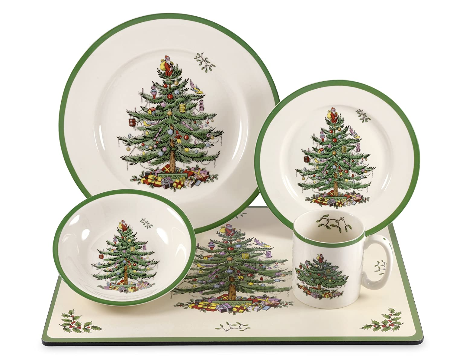 Christmas Trees Dinnerware Sets