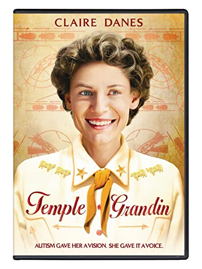 Temple Grandin (film) - Amazon.com: Temple Grandin: Claire Danes, Julia Ormond, David ... - Based on the writings by its title subject, HBO Films' Temple Grandin is an   engaging portrait of an autistic young woman who became, through timely   mentoring ...