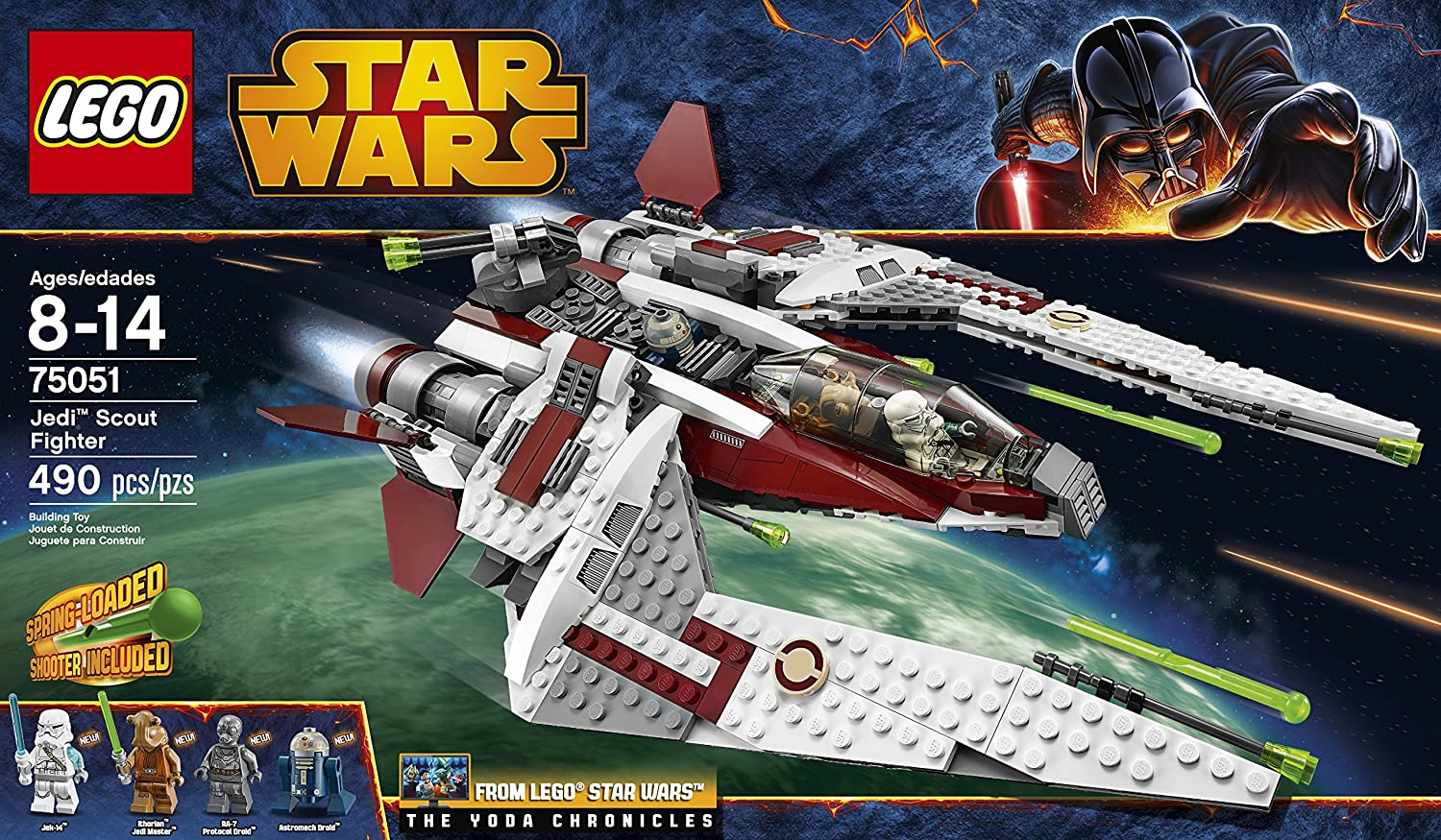Star Wars Lego Toys : Lego star wars jedi scout fighter building toy new