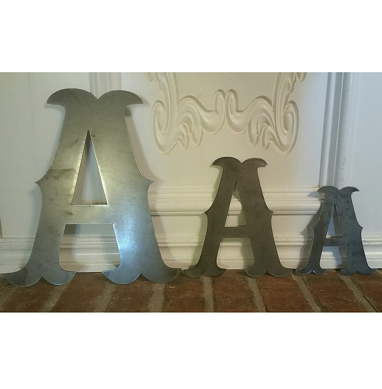 Individual Metal Letters 6in, 8in, 12in, and 20in	 0