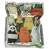 Cartoon Network We Bare Bears 3D Foam Collectible Blind Bag Key Ring Novelty and Amusement Toys (Color: Multi-colored, Tamaño: 3