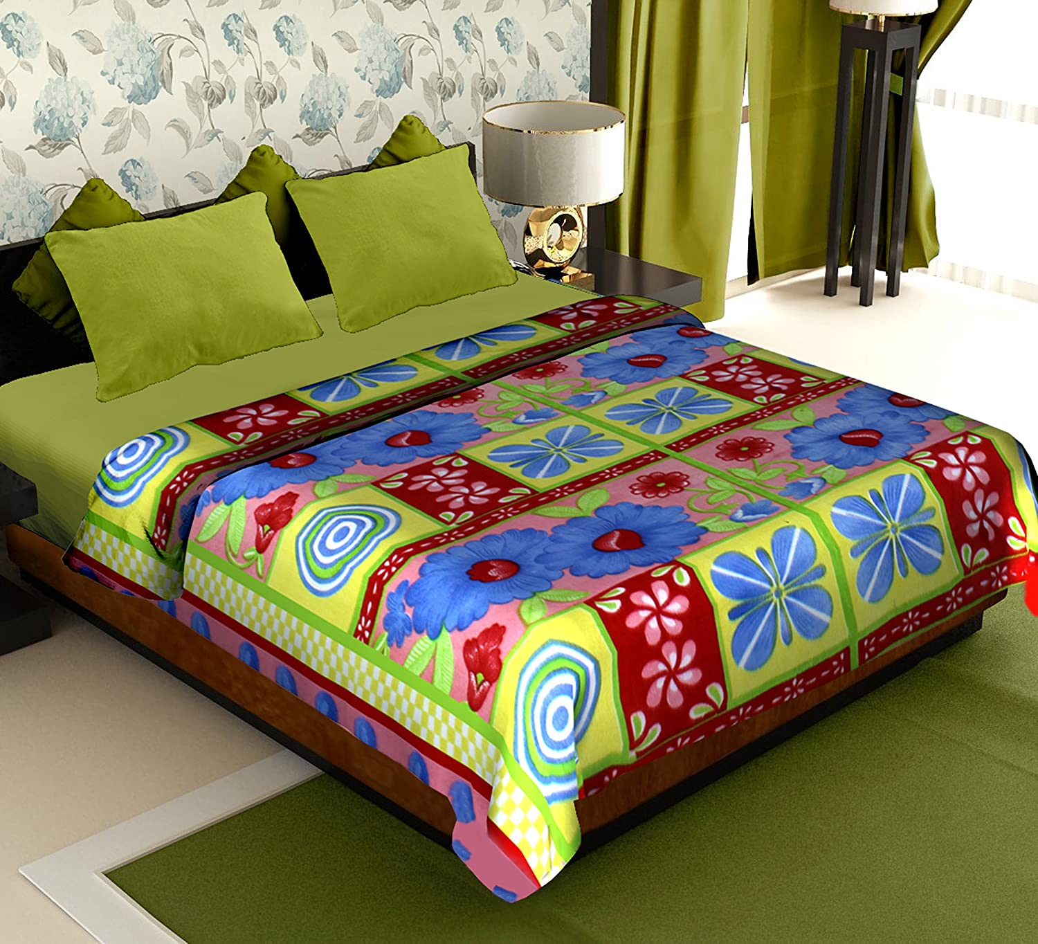 80 off story home coral collection soft printed fleece for Beds 80 off