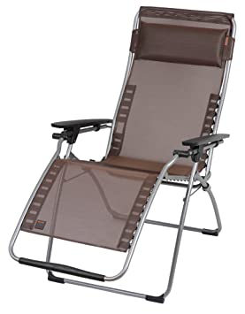lafuma lfm3053 3797 relaxliege futura clipp brun noir dee733. Black Bedroom Furniture Sets. Home Design Ideas