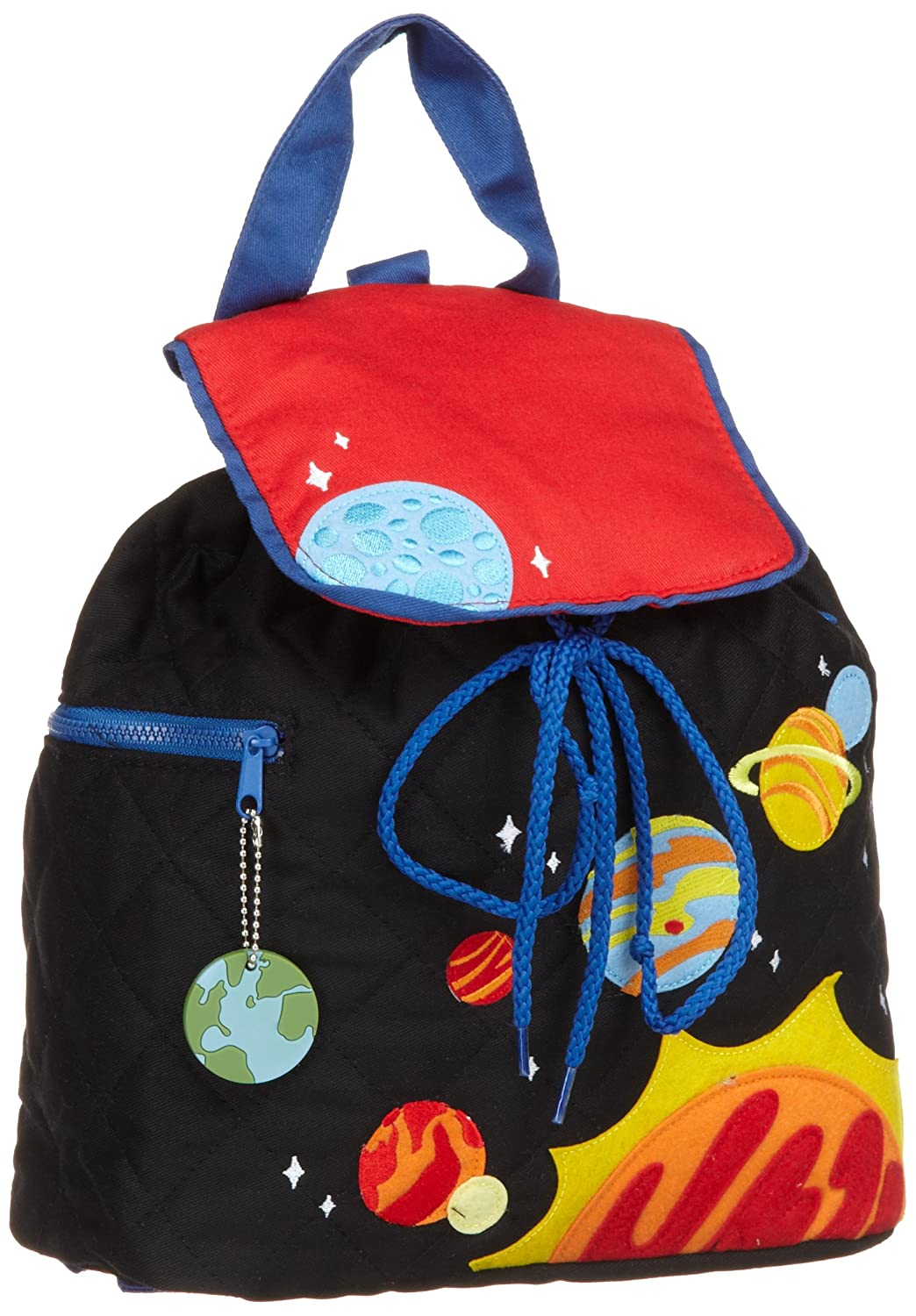 Stephen Joseph Space Boy's Quilted Backpack