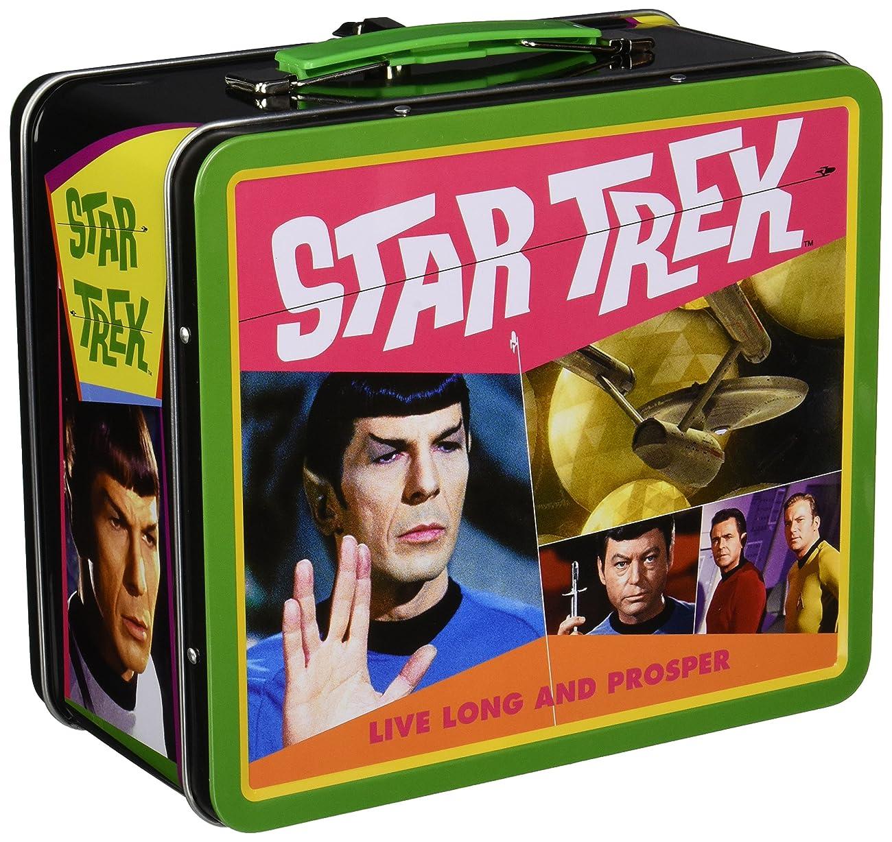 Aquarius Star Trek Retro Large Tin Fun Box 2