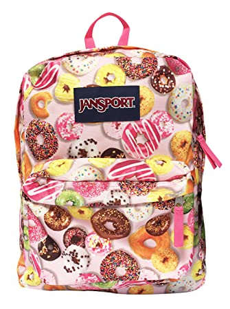 Classic Jansport Superbreak Backpack (Multi Donuts (T50109Y))